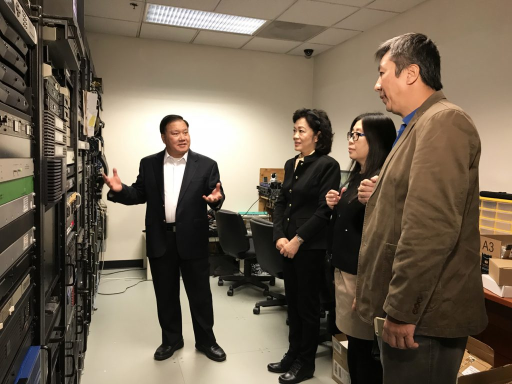 GDTV News Radio & TV Delegation Visit Chinese Media