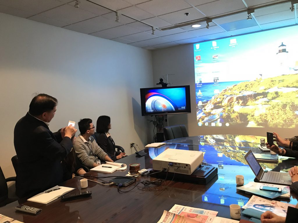 GDTV News Radio & TV Delegation Visit Chinese Media R&C Media Group Inc