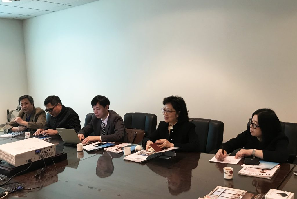 GDTV News Radio & TV Delegation Visit Chinese Media R&C Media Group Inc. Chinese Ad